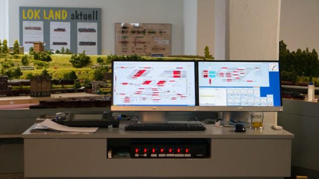 Digitalsteuerung (DCC) mit ESU Ecos und PC im LOK LAND