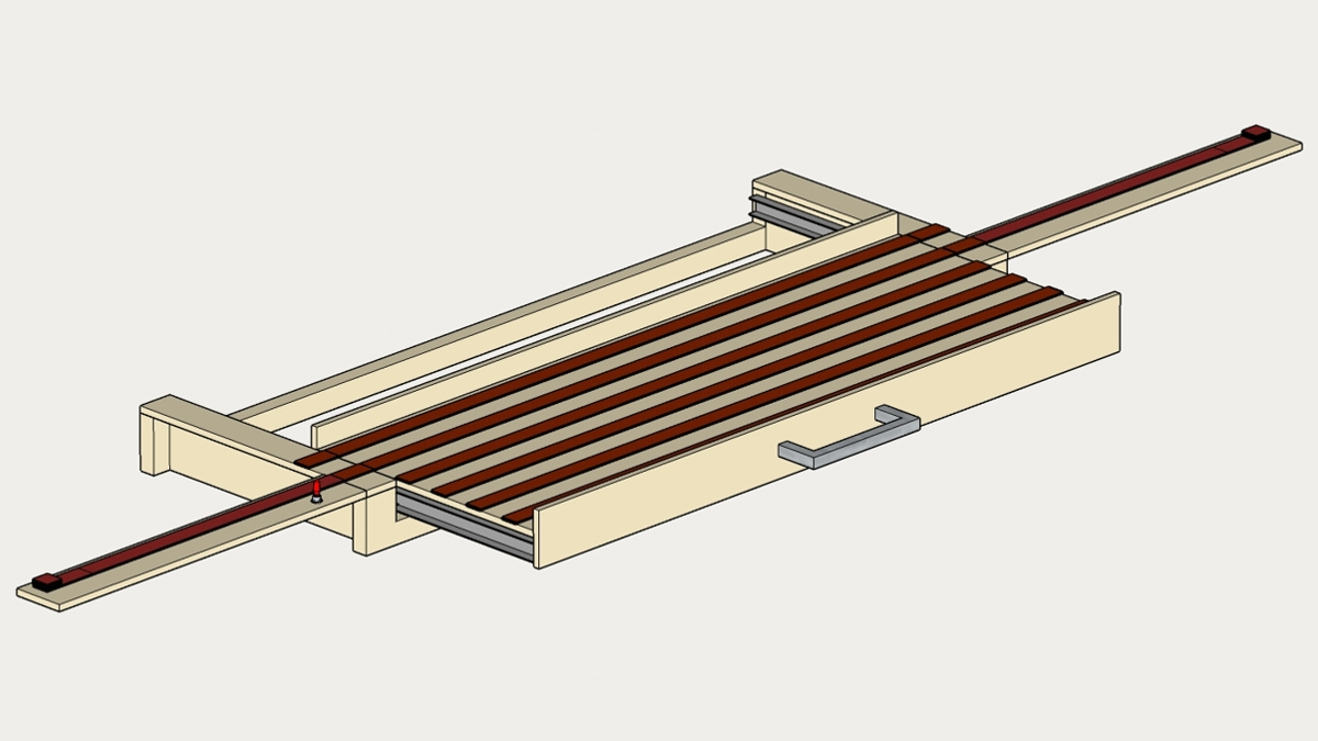 Planung des Fiddle Yards mit SketchUp